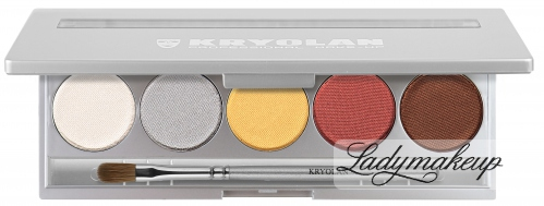 KRYOLAN - VIVA 5 COLORS - Paleta 5 cieni do powiek - ART. 9105