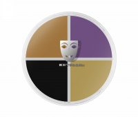 KRYOLAN - SUPRACOLOR QUARTET - Creamy face paint - ART. 1304 - 3 Black Eyes - 3 Black Eyes