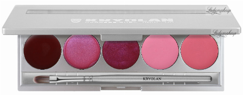 KRYOLAN - LIP ROUGE SET - Paleta 5 Pomadek do ust - ART. 1215