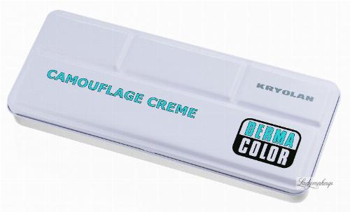 KRYOLAN - CAMOUFLAGE CREME - Paleta 24 podkładów/ kamuflaży do twarzy - ART. 71008