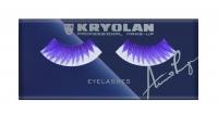KRYOLAN - EYELASHES - Sztuczne rzęsy VIOLET - ART. 9356