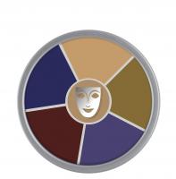 KRYOLAN - Supracolor - Rainbow Circle - Tłusta farba do makijażu - ART. 1306 - BRUISE - BRUISE