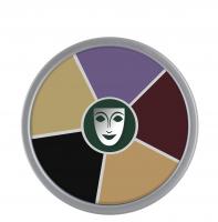 KRYOLAN - Supracolor - Rainbow Circle - Tłusta farba do makijażu - ART. 1306 - BLACK EYES - BLACK EYES