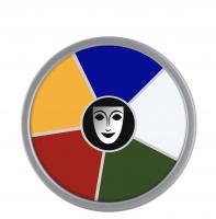 KRYOLAN - Supracolor - Rainbow Circle - Tłusta farba do makijażu - ART. 1306 - MULTI COLOR - MULTI COLOR