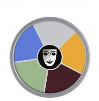 KRYOLAN - Supracolor - Rainbow Circle - Tłusta farba do makijażu - ART. 1306 - MONSTER - MONSTER
