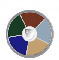KRYOLAN - Supracolor - Rainbow Circle - Tłusta farba do makijażu - ART. 1306 - ZOMBIE - ZOMBIE