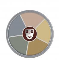 KRYOLAN - Supracolor - Rainbow Circle - Tłusta farba do makijażu - ART. 1306 - CORPSE 2 - CORPSE 2