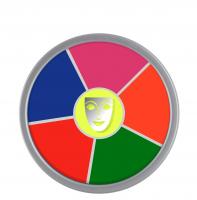 KRYOLAN - Supracolor - Rainbow Circle - Tłusta farba do makijażu - ART. 1306 - UV-DAYGLOW - UV-DAYGLOW
