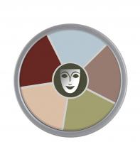 KRYOLAN - Supracolor - Rainbow Circle - Tłusta farba do makijażu - ART. 1306 - DEATH - DEATH