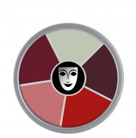 KRYOLAN - Supracolor - Rainbow Circle - Tłusta farba do makijażu - ART. 1306 - BURN & INJURY - BURN & INJURY
