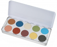Kryolan - Palette of 20 eyeshadows
