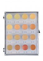 KRYOLAN - Dermacolor - CAMOUFLAGE MINI - PALETTE - Mini paleta 16 podkładoów/ kamuflaży do twarzy - ART. 71006 - H 16 - H 16