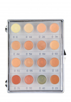KRYOLAN - Dermacolor - CAMOUFLAGE MINI - PALETTE - Mini paleta 16 podkładoów/ kamuflaży do twarzy - ART. 71006 - NR. 2 - NR. 2