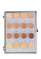 KRYOLAN - Dermacolor - CAMOUFLAGE MINI - PALETTE - Mini paleta 16 podkładoów/ kamuflaży do twarzy - ART. 71006 - 1W -12W - 1W -12W