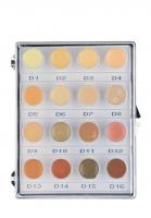 KRYOLAN - Dermacolor - CAMOUFLAGE MINI - PALETTE - Mini paleta 16 podkładoów/ kamuflaży do twarzy - ART. 71006 - NR. 1 - NR. 1