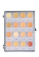 KRYOLAN - Dermacolor - CAMOUFLAGE MINI - PALETTE - Mini paleta 16 podkładoów/ kamuflaży do twarzy - ART. 71006 - FAIR - FAIR