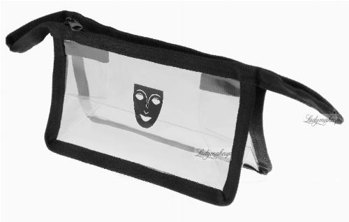 KRYOLAN - Small clear bag - Kosmetyczka przezroczysta MAŁA - ART. 27786
