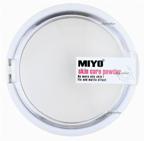 MIYO - Skin Care powder - Puder ryżowy z ekstraktem z aloesu