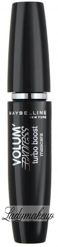 MAYBELLINE - VOLUM' EXPRESS turbo boost mascara - Pogrubiający tusz do rzęs - VERY BLACK