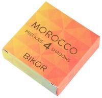 Bikor - MOROCCO - 4 PRECIOUS EYE SHADOWS - Zestaw 4 cieni do powiek