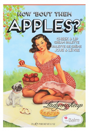 THE BALM - HOW 'BOUT THEM APPLES? - Paleta róży i pomadek