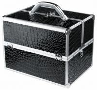 MAKE-UP BOX - PB1201-N BLACK (crocodile)