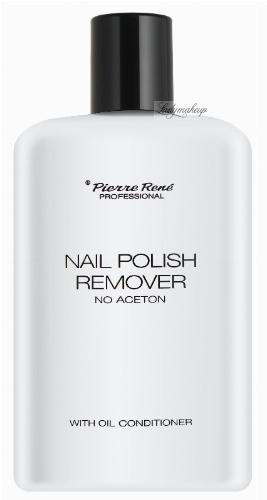 Pierre René - NAIL POLISH REMOVER - Zmywacz do paznokci z odżywką
