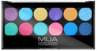 MUA - Eyeshadow Palette - Paleta cieni do powiek - POPTASTIC
