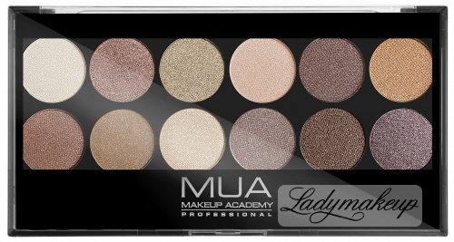 MUA - Eyeshadow Palette - Paleta cieni do powiek - HEAVEN AND EARTH