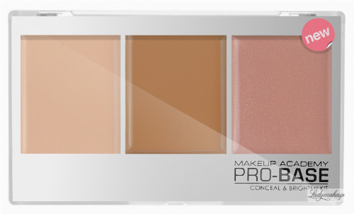 MUA - PRO-BASE CONCEAL & BRIGHTEN KIT - Set of 3 concealers