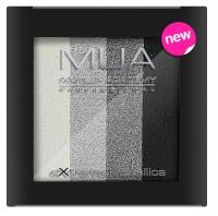 MUA - Extreme Metallics - Zestaw 4 metalicznych cieni do powiek