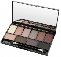 MUA - LUXE - Pretty Edgy Eyeshadow Palette - Paleta cieni do powiek