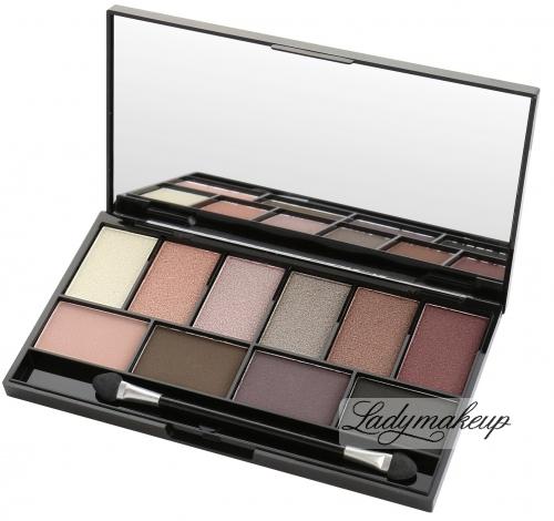 MUA - LUXE - Pretty Edgy Eyeshadow Palette - Paleta cieni do powiek