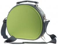 Inter-Vion - Kufer kosmetyczny półokrągły - 414878 B - (ZIELONO-SZARY)