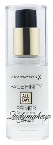 Max Factor - FACE FINITY PRIMER - Bezbarwna baza wygładzająca