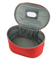 Inter-Vion - Kufer kosmetyczy - 413567 F - DUŻY - (CZERWONY)