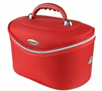 Inter-Vion - Make-up box - 413567 F - BIG - (RED)