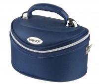 Inter-Vion - Make-up box - 413569 D - SMALL - (BLUE)