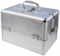 MAKE-UP BOX - HZ01 SILVER - BUTTERFLY