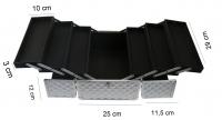 KUFER KOSMETYCZNY - PB1201-N SILVER DIAMOND (3D)