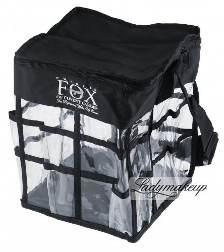 KRYOLAN - Torba transparentna kwadratowa FOX - mała - ART. 81491