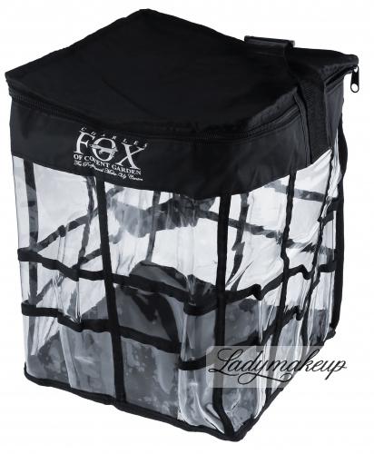 KRYOLAN - Torba transparentna kwadratowa FOX - duża - ART. 81492