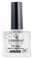 Golden Rose - GEL LOOK TOP COAT - Preparat dający efekt żelowych paznokci - O-GGL