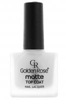 Golden Rose - Matte TOP COAT - Matowy utrwalacz do lakieru - O-GMN-TCT