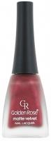 Golden Rose - MATTE VELVET - Nail Lacquer - Lakier do paznokci - O-GMV
