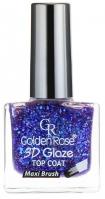 Golden Rose - 3D Glaze TOP COAT - Utwardzacz do lakieru - O-G3D