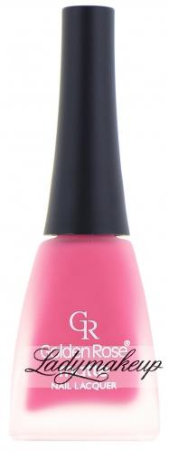 Golden Rose - MATTE - Nail Lacquer - Lakier do paznokci - O-GMN