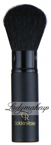 Golden Rose - RETRACTABLE POWDER BRUSH - K-FIR-03
