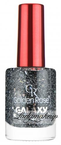 Golden Rose - GALAXY - Nail Color - Lakier do paznokci z drobinami - O-GLX