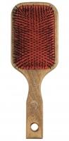 GORGOL - NATUR - Pneumatyczna szczotka do włosów z naturalnego włosia + ROZCZESYWACZ - 15 18 642 - 13R